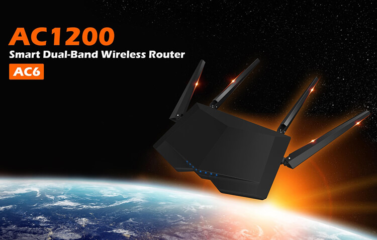 The Tenda AC6 – The Name in Router Reliability