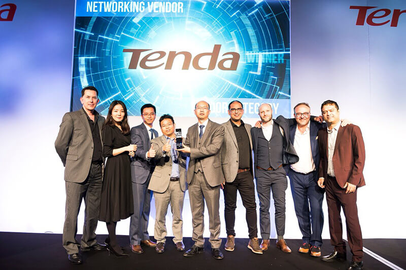 Tenda UK Crowned 'Best Networking Vendor' By PCR