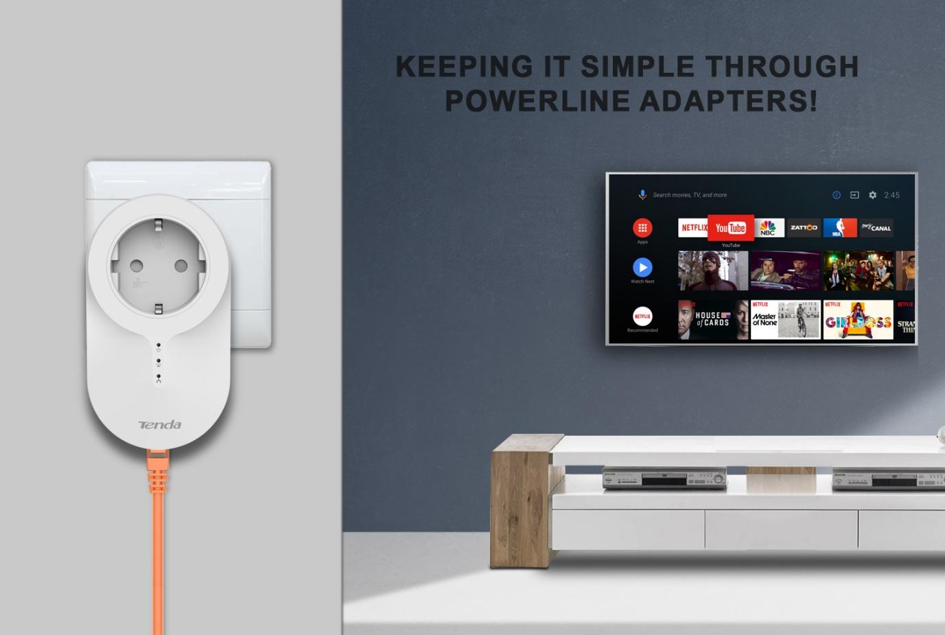 Keeping It Simple Through Powerline Adapters!